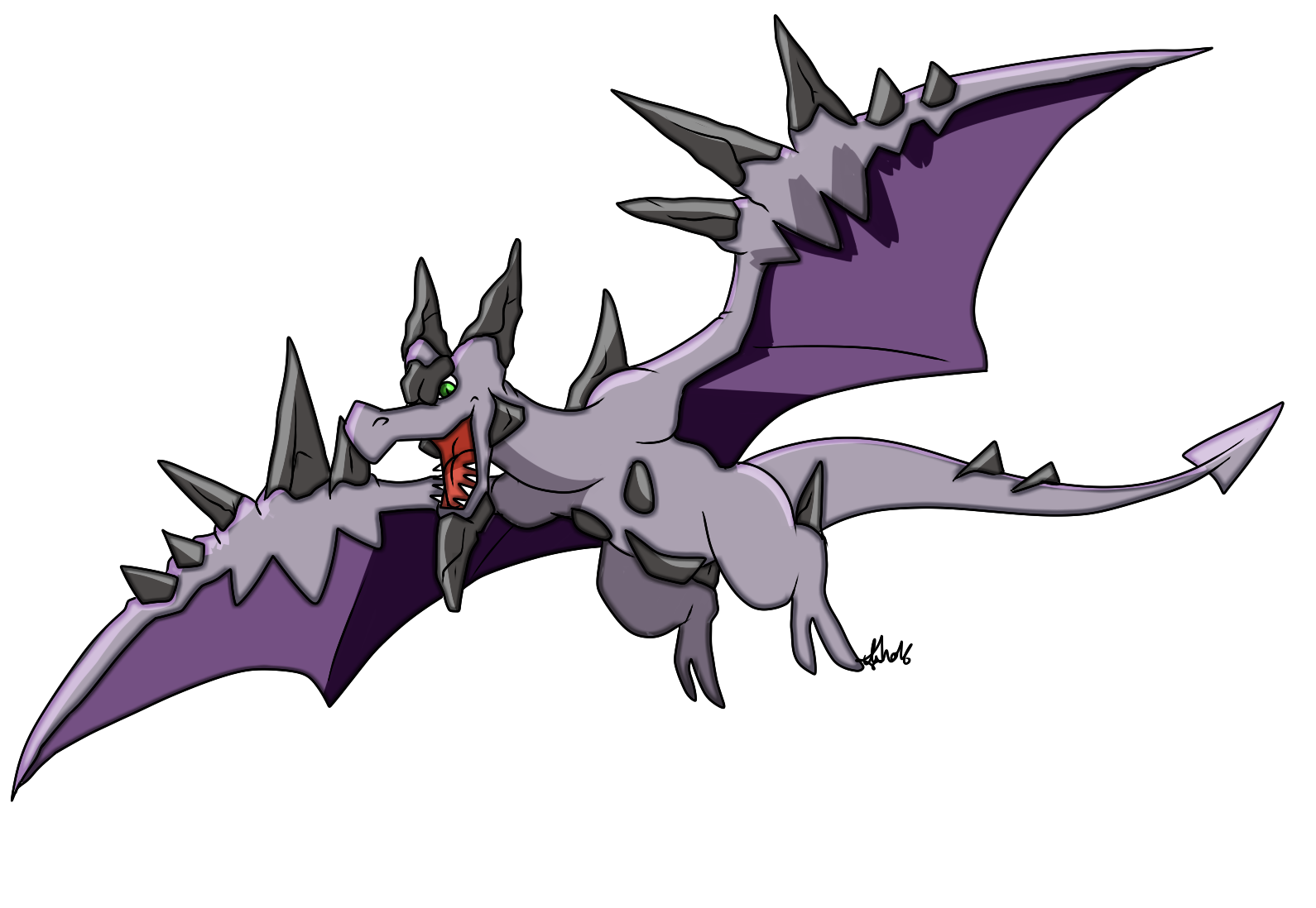 Pok mon de la semaine n 114 et vos dessins de bogu risse - Pokemon ptera ...