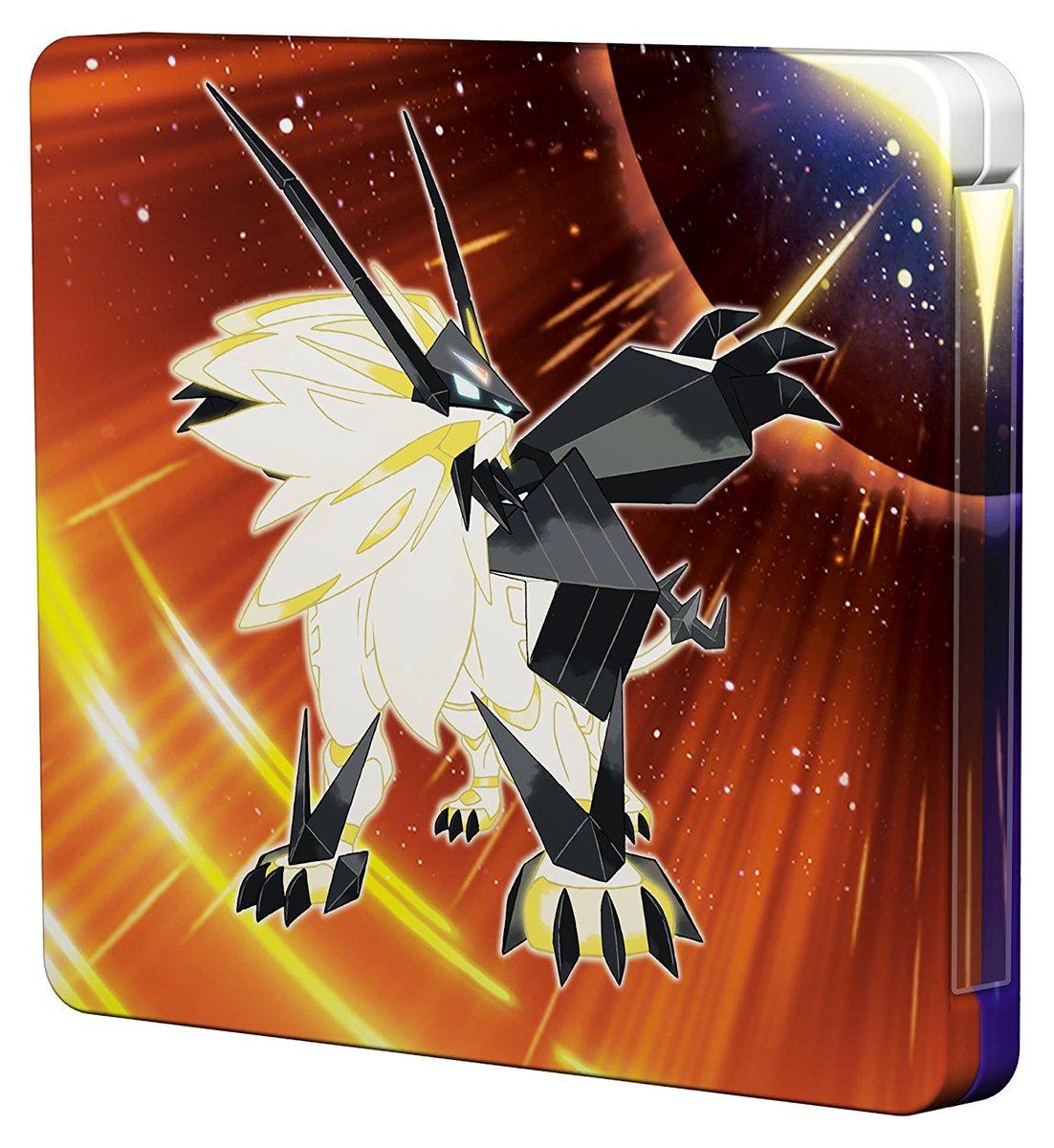 Le Steelbook Pokémon Ultra Soleil Et Lune