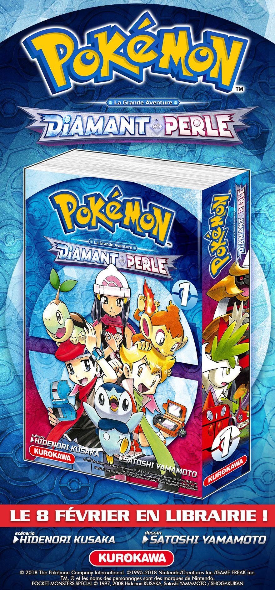 Nouveaux mangas pok mon la grande aventure chez kurokawa - Pokemon rare diamant ...