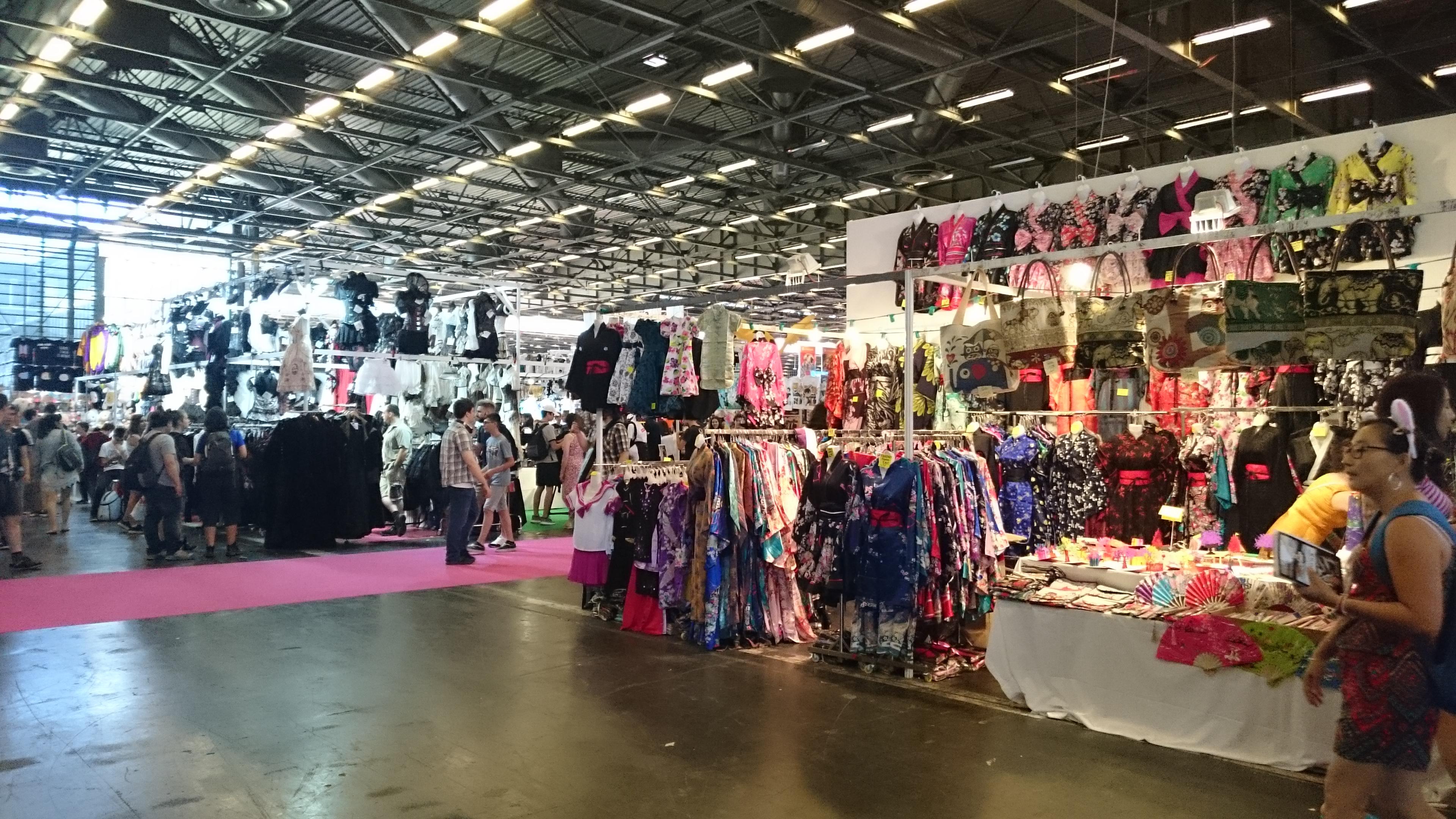 Japan Expo Les Stands : Et si nous retournions à japan expo 2018 !