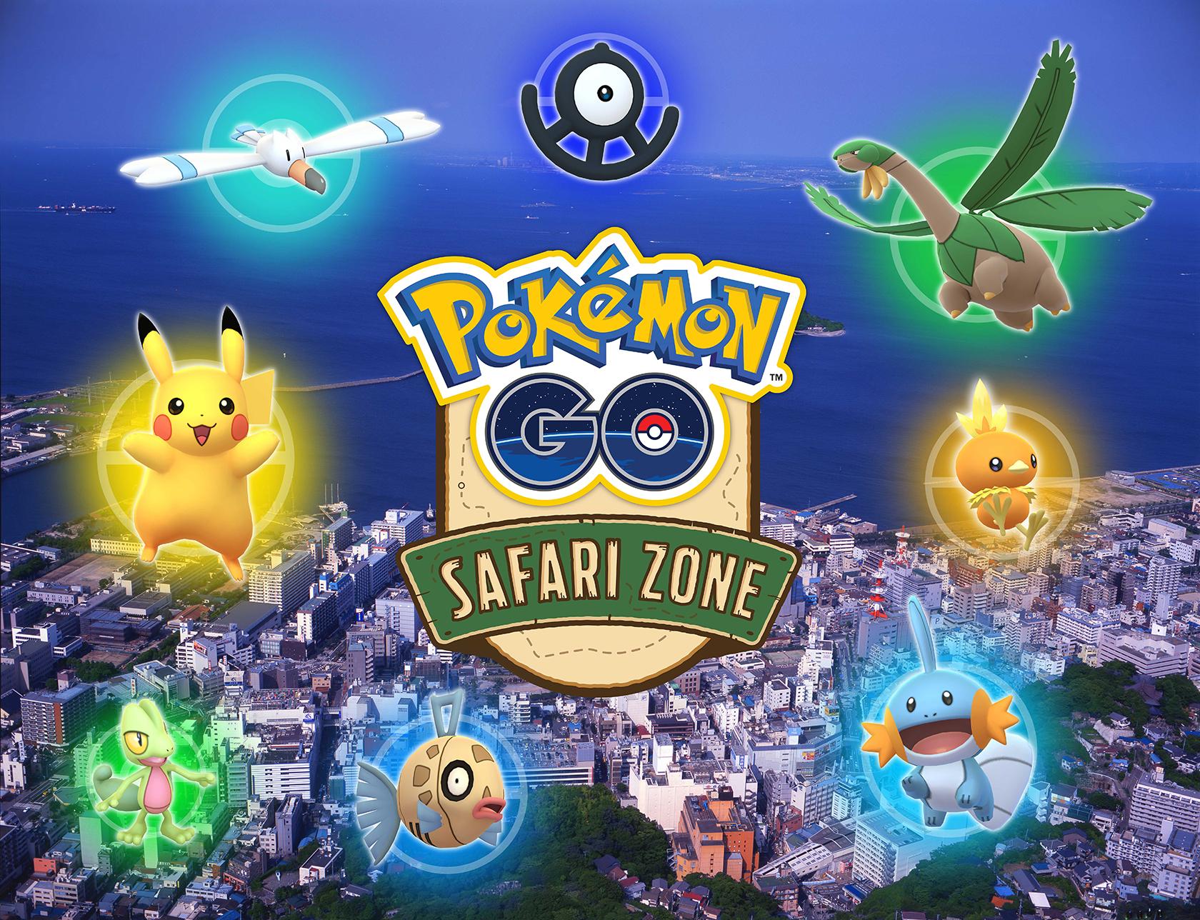 pokémon go : safari zone à yokosuka