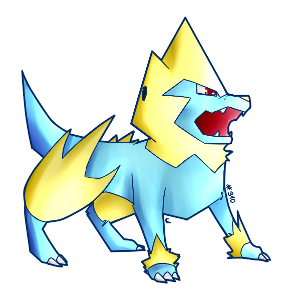 Pok mon de la semaine n 54 et vos dessins d 39 elecsprint - Pokemon ferosinge ...