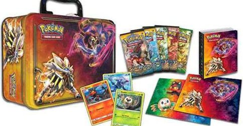 TCG : Sun & Moon Collector's Chest Tin aux USA