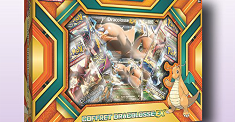 TCG : Le coffret Dracolosse EX disponible en France !