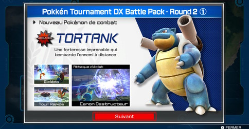 Test du Battle Pack Round 2 de Pokkén Tournament DX : Tortank !