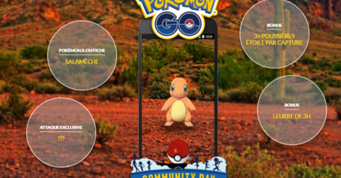 Pokémon Go: Community Day de Mai