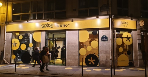 Pokémon by Celio*, le Pop Up Store vous attend !