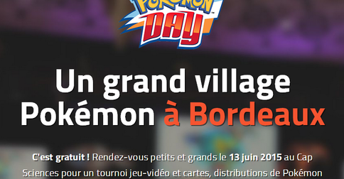 Le retour du Pokémon Day !