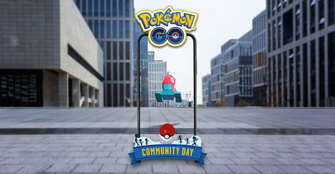 Le Pokémon GO Community Day de septembre : Porygon !