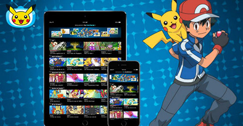 Mise à jour de l'application TV Pokémon