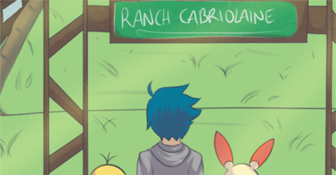Strip : Escapade au Ranch Cabriolaine