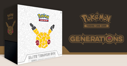 TCG :  L'Elite Trainer Box Génération et Pokemon Center Online !