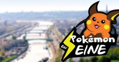 Pokemon en Seine le 23 Octobre