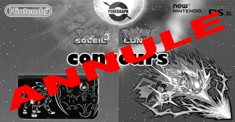 CONCOURS ANNULE ! New 3DS XL Solgaleo Lunala !